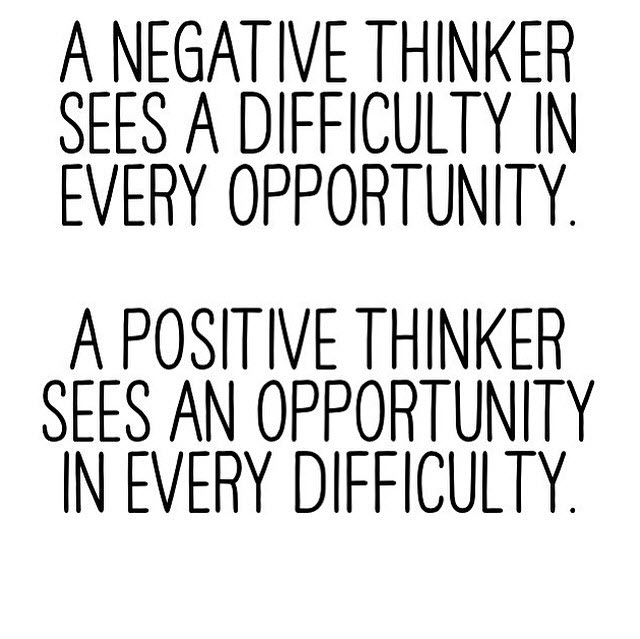 A Positive Mental Attitude Is Focused On Solutions and Opportunities