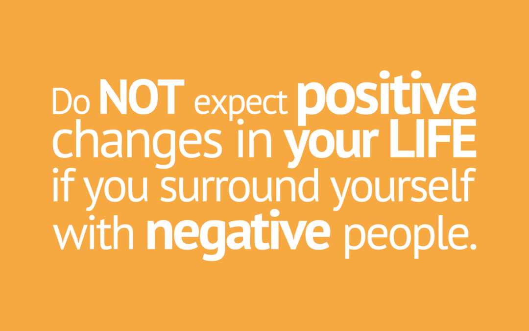 Do Not Expect Positive If Surrounded by Negative