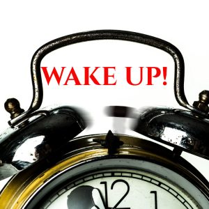 wake up call to stop the busyness and get into productivity