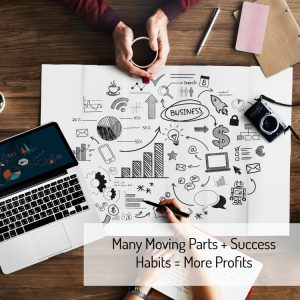many moving parts in business