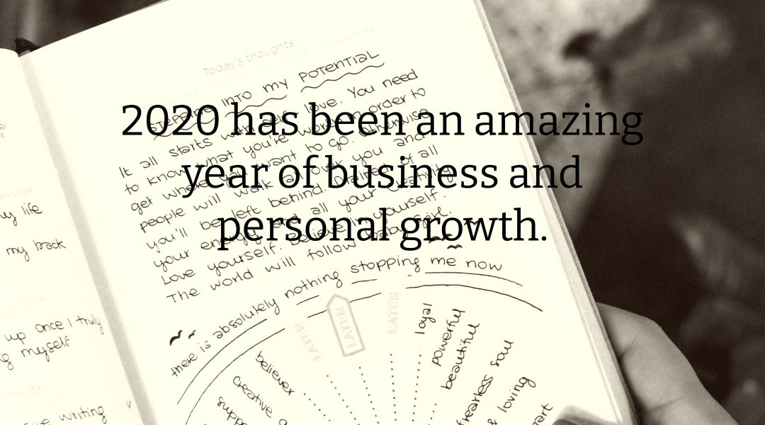 2020 Amazing Year of Growth